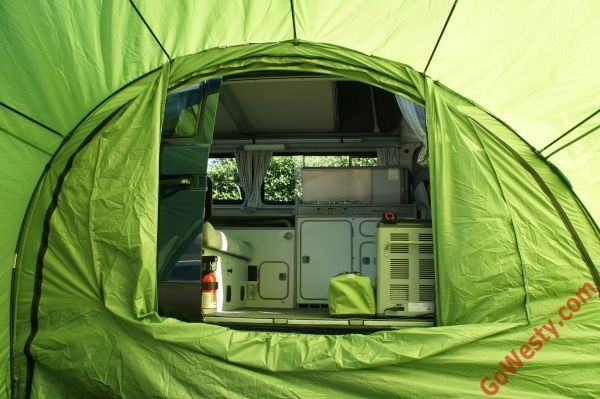 ArcHaus Side Tent - GoWesty C&er Products - parts supplier for VW Vanagon Eurovan & ArcHaus Side Tent - GoWesty Camper Products - parts supplier for ...
