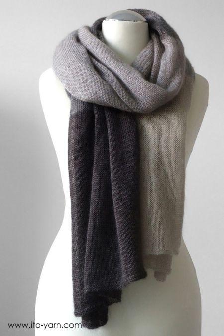 OSAKA Schal | Stricken | Pinterest | Knitting, Knit Crochet und Easy ...