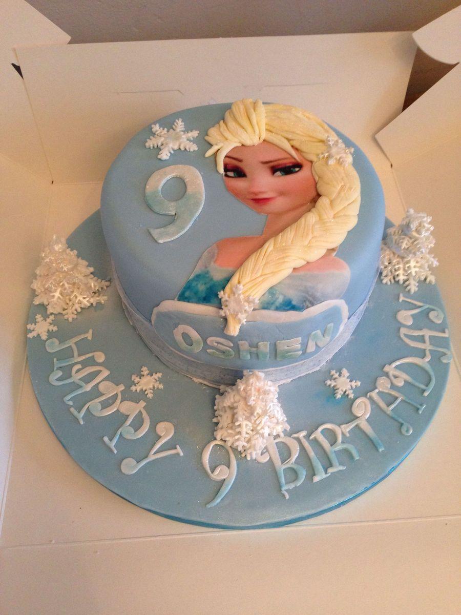 Elsa Frozen 2d Cake Birthday Cakes CAKES Pinterest 2d Elsa