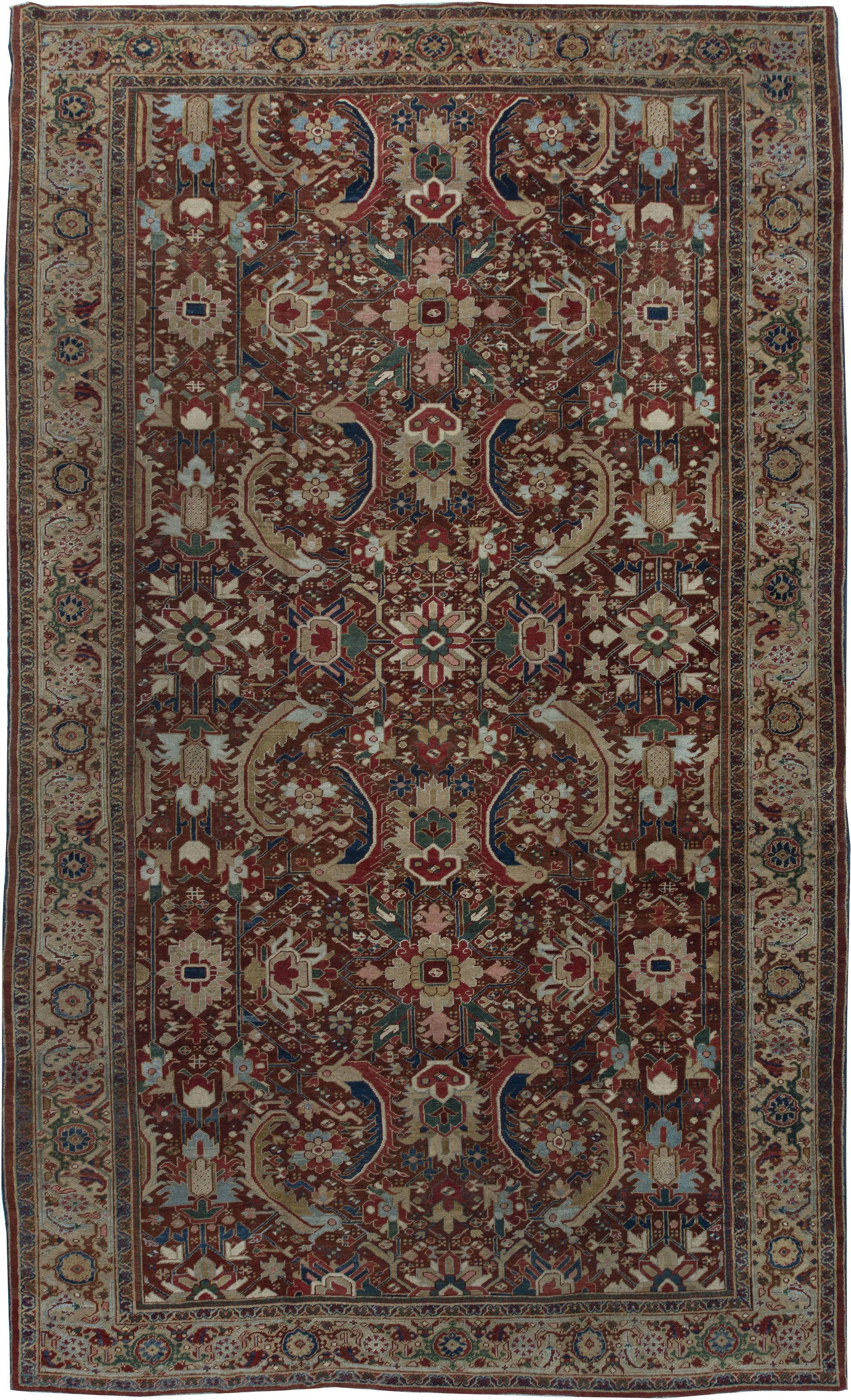 Persian Heriz Carpet Bb6368 By Doris Leslie Blau Persian Decor Antique Persian Carpet Rugs On Carpet
