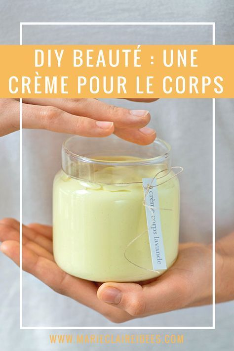 DIY beauté : faire de la crème pour le corps