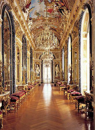 Kleine Galerie Herrenchiemsee Schloss Chiemsee