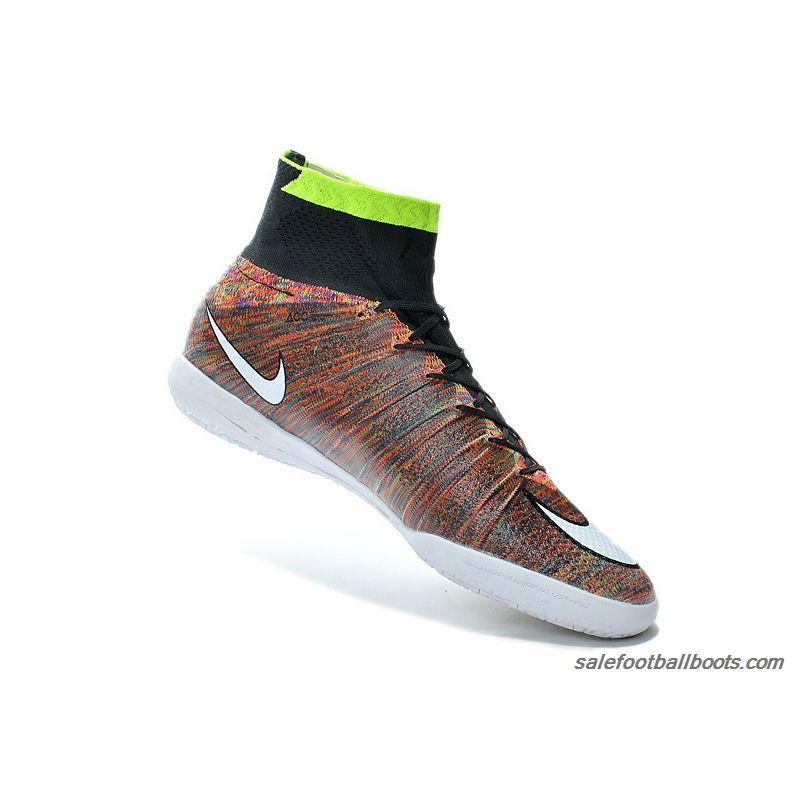 Nike Elastico Superfly IC Green Black Brown 8699