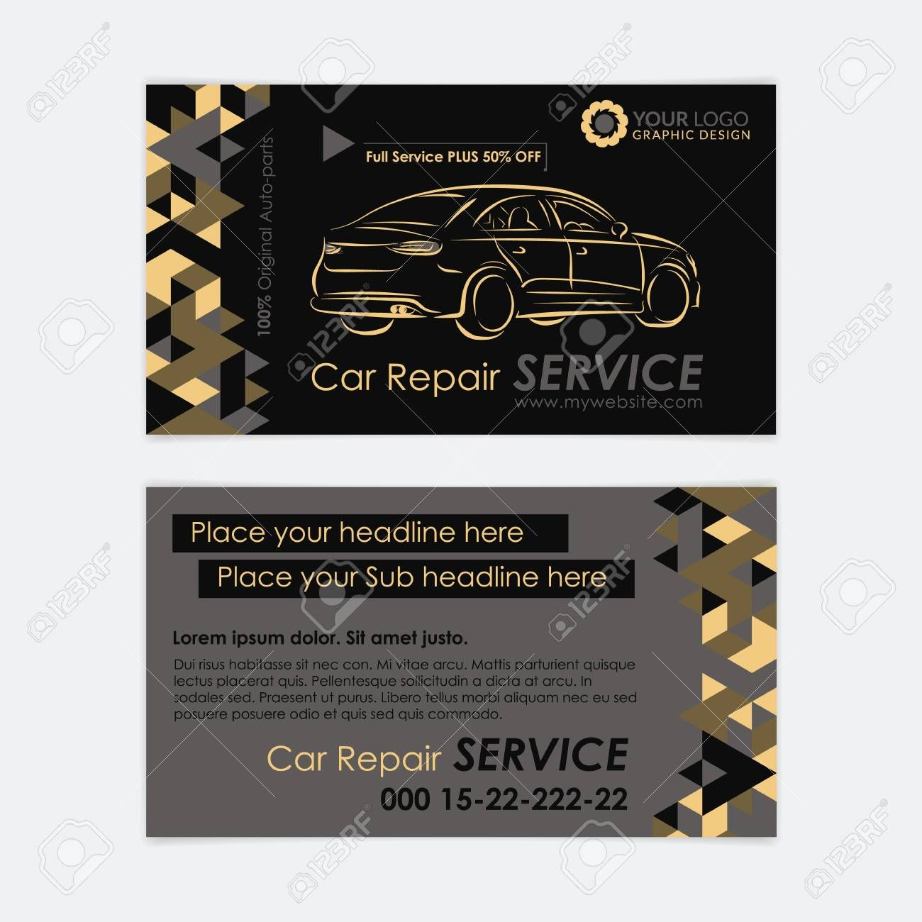 Automotive Business Card Template For Automotive Business Card Templates Sample Profes Free Business Card Templates Card Templates Business Card Template Psd