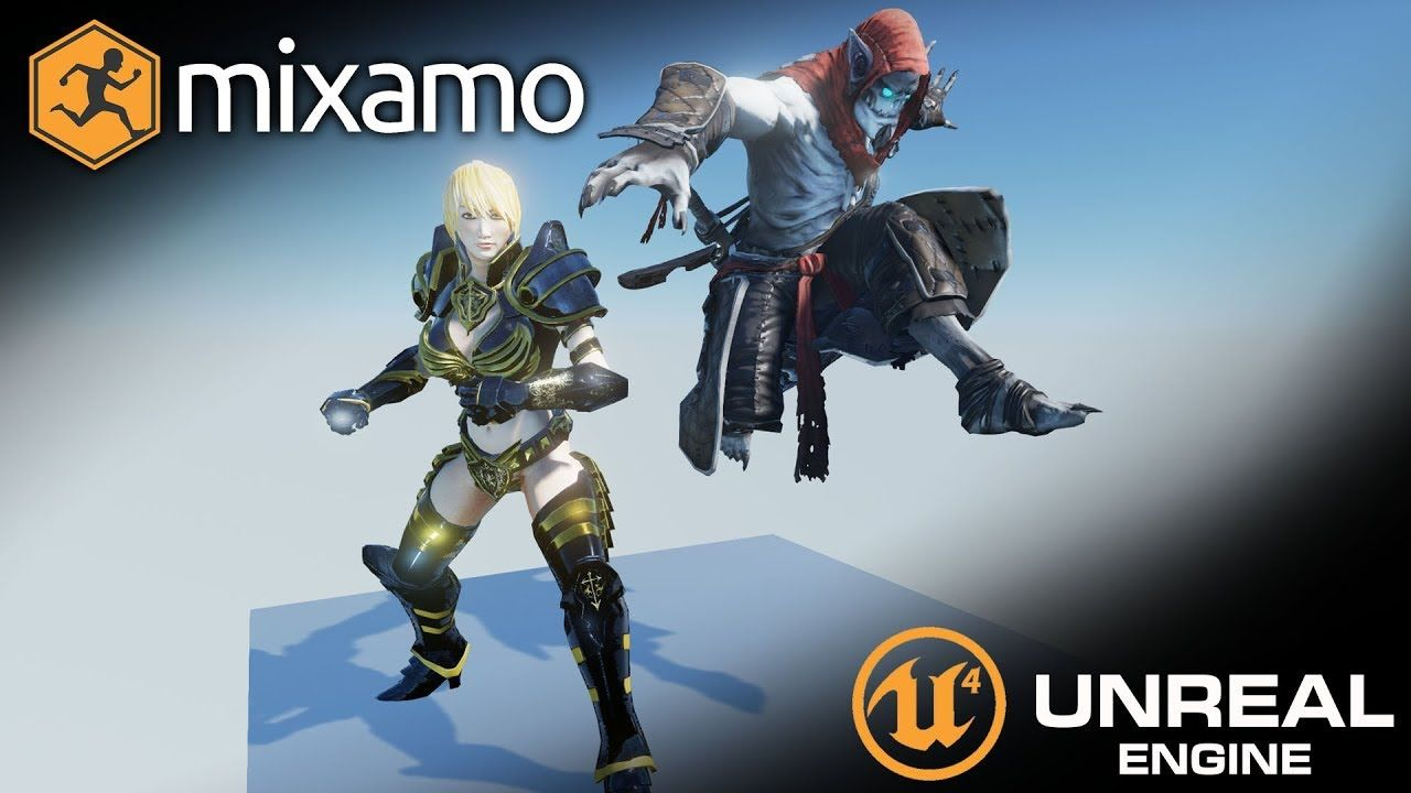 Importing Characters from Mixamo to Unreal Engine 4 (UE4 Tutorial