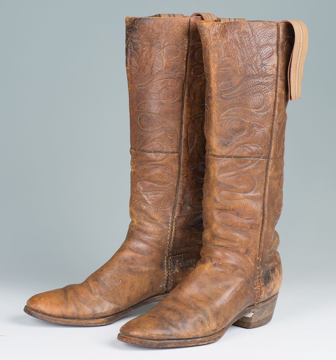 d689fceb91f Pair of Cowboy Stovepipe Boots - Old West Events | Western Cowboy ...