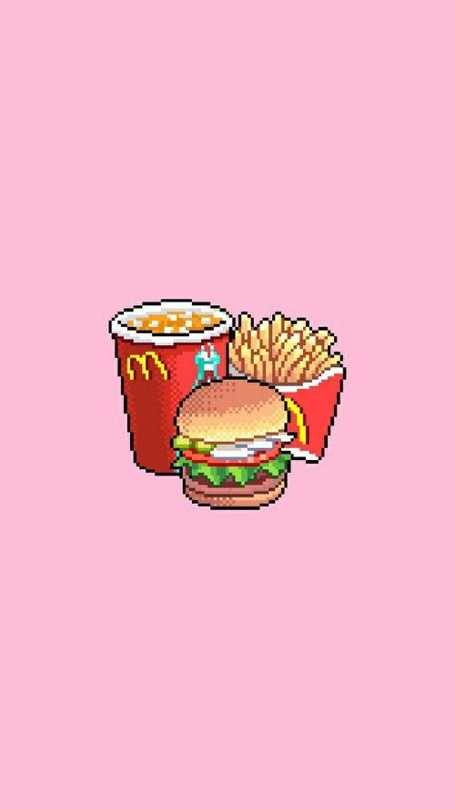 Wallpaper Tumblr Food Papel De Parede Comida Tumblr Segue Ai E
