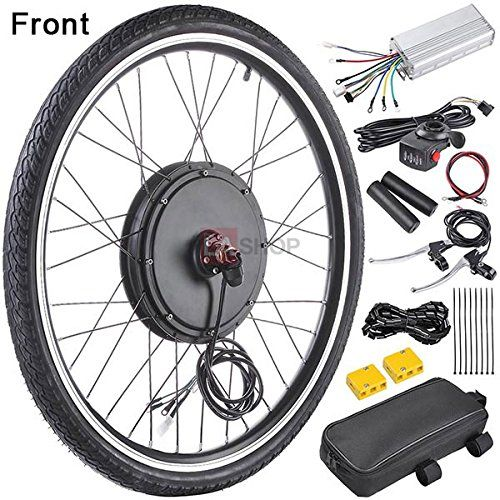Megabrand 48v 1000w 26 Inch Front Wheel Electric Bicycle Motor Conversion Kit Electricbike Powerbike Cy Bicycle Engine Electric Bicycle Kit Electric Bicycle