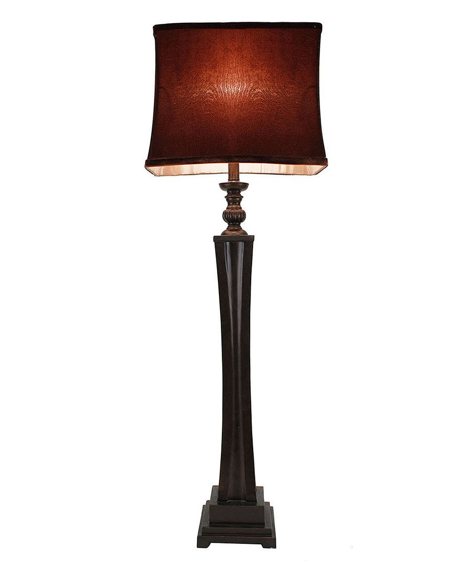 Loving this Décor Therapy Elongated Bronze & Gold Lamp on #zulily! #zulilyfinds