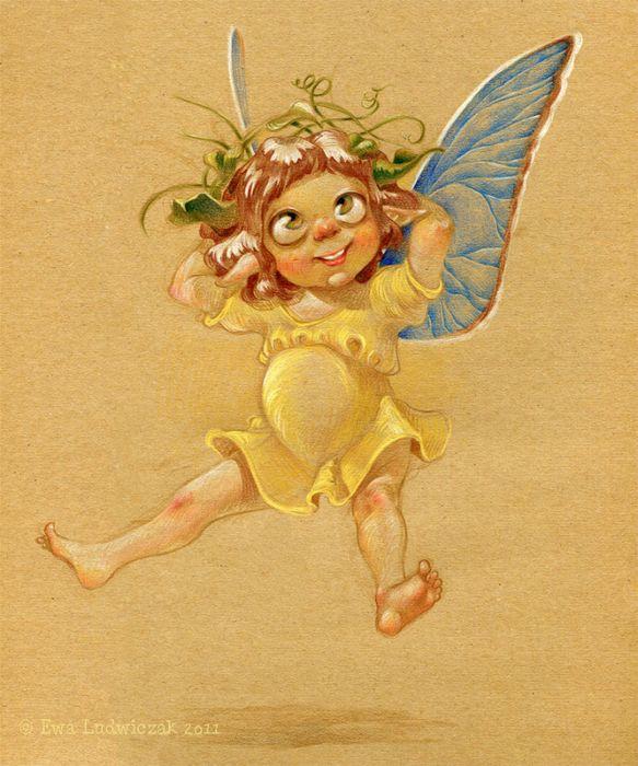 Картинки приколы с феями, оригинально подарить открытки