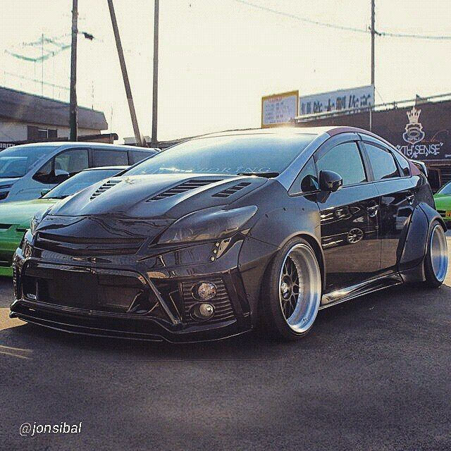 Toyota Prius Jdm Stanced On Instagram