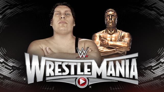 Wrestlemania Andre The Giant Raw Results Wwe Pictures