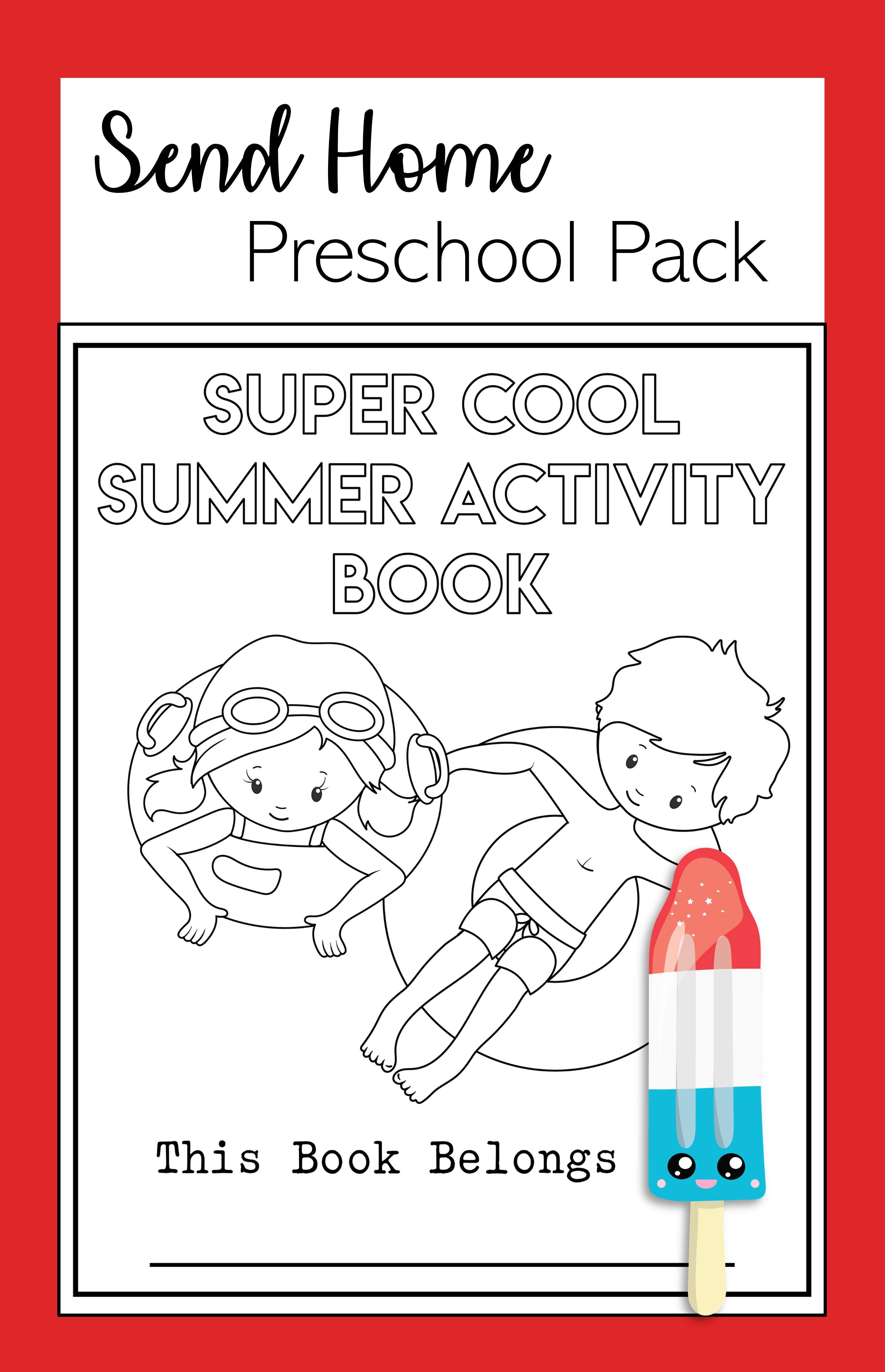 Super Cool Summer Book