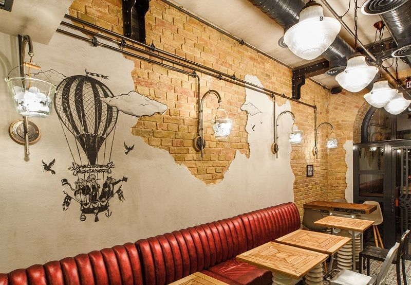 With an eclectic interior, Bite & Go. Deli Cafe delight you with a raw and  industrial ambience.