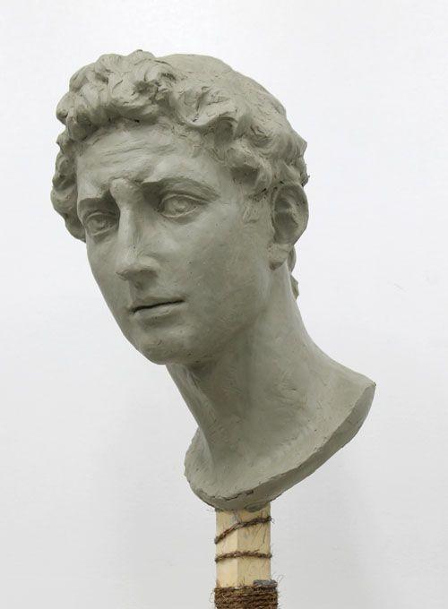 デッサン 石膏像 脚から首