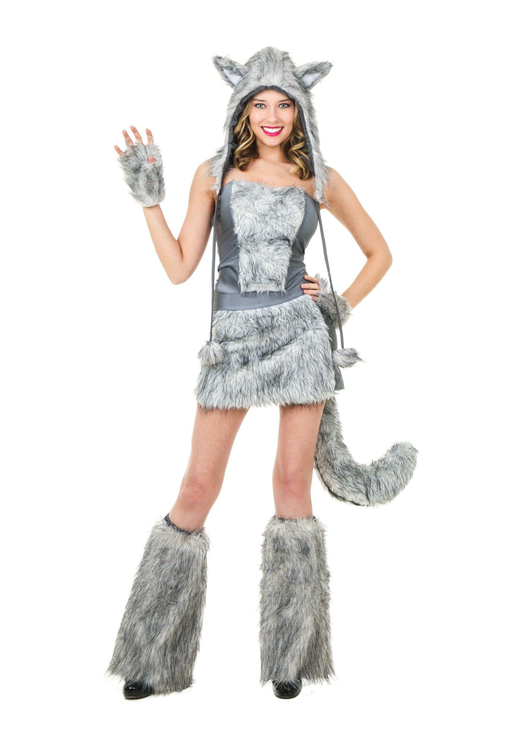 Sexy wolf halloween makeup