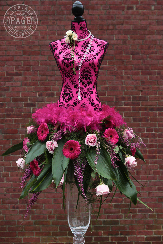 Floral skirt unique arrangements pinterest
