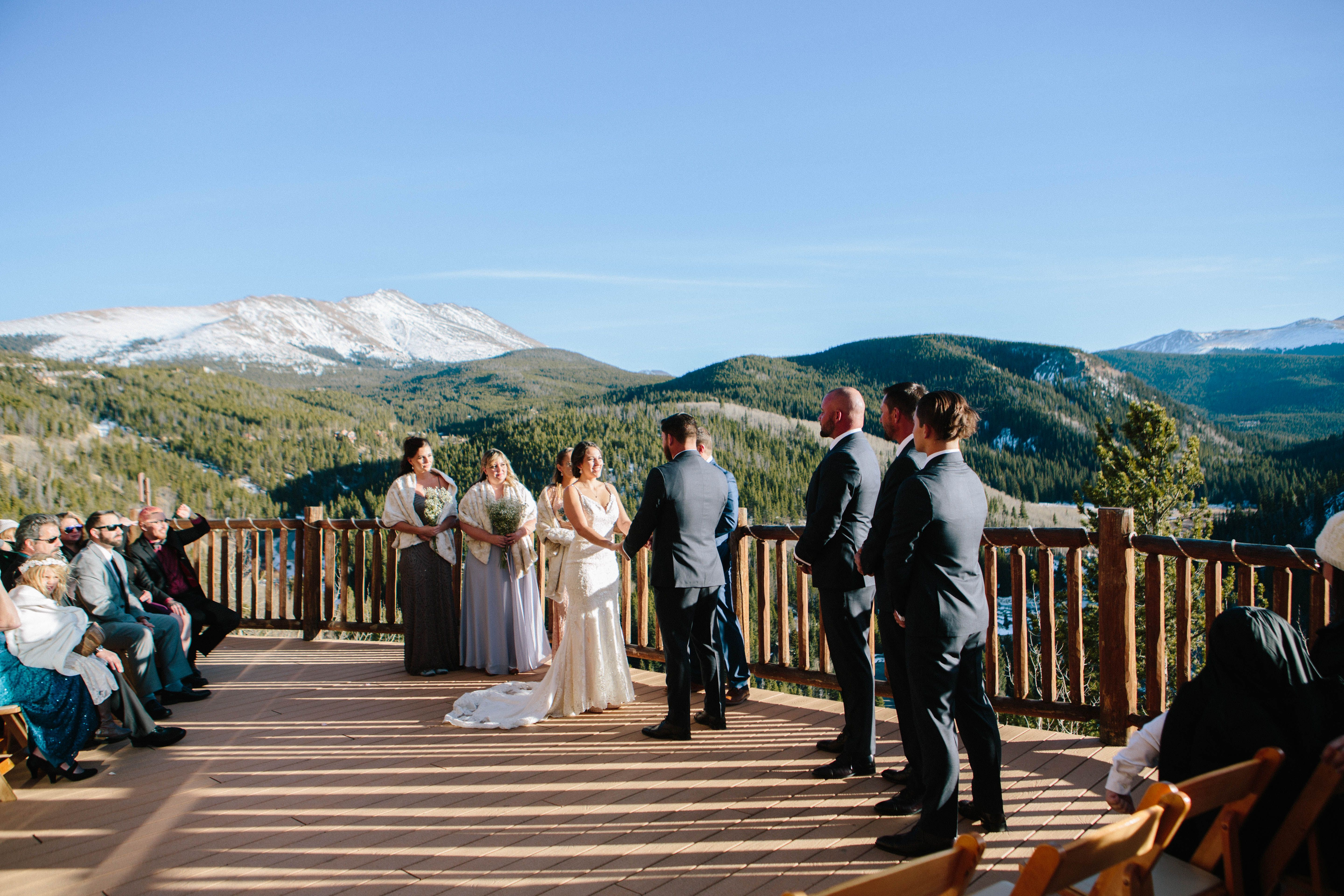 Find this breathtaking venue at the Lodge at Breckenridge