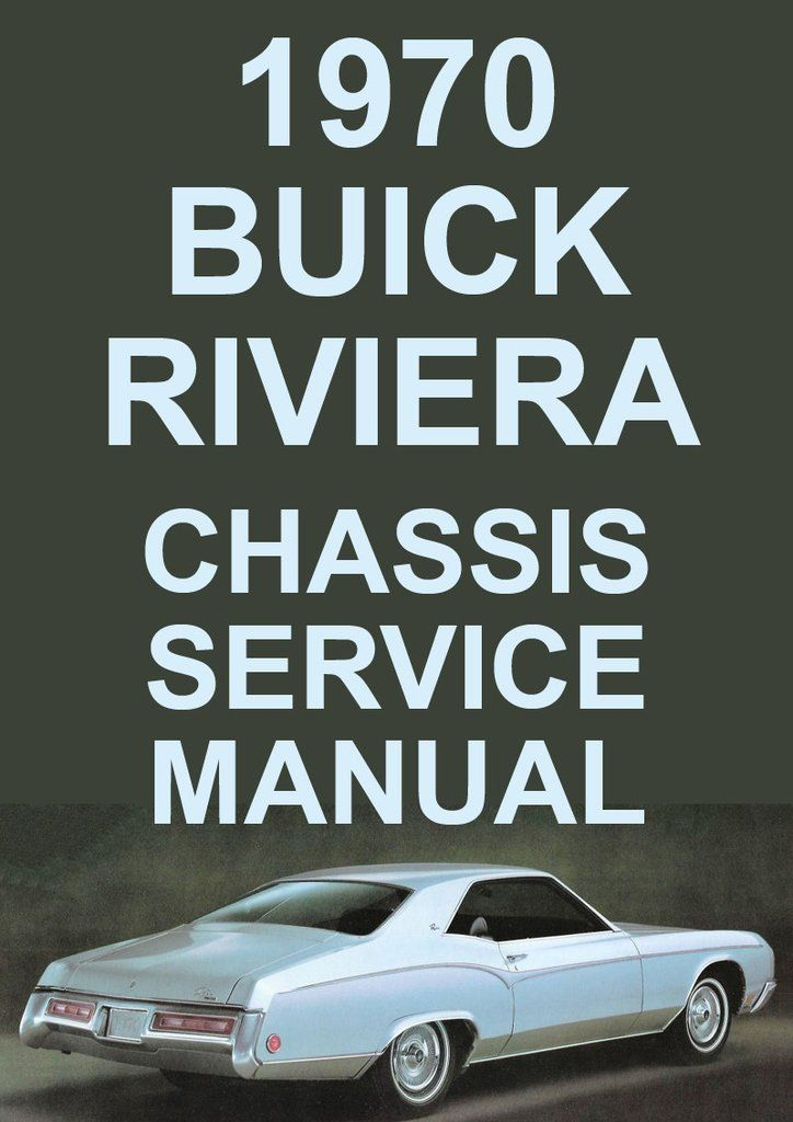 buick riviera 1970 workshop manual buick car manuals direct rh pinterest com buick encore car manual 2003 buick rendezvous car manual