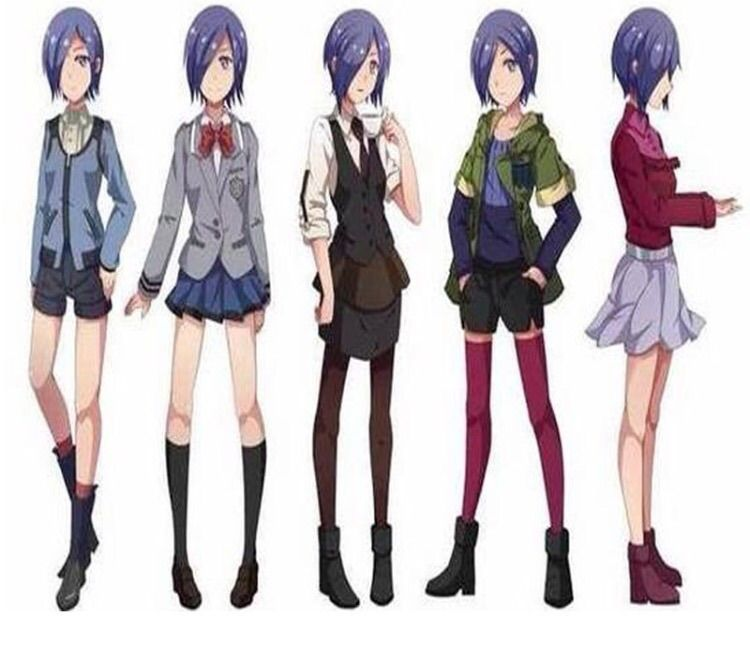 Various outfits that Touka wears in the anime. Tokyo Ghoul CosplayCosplay  ...