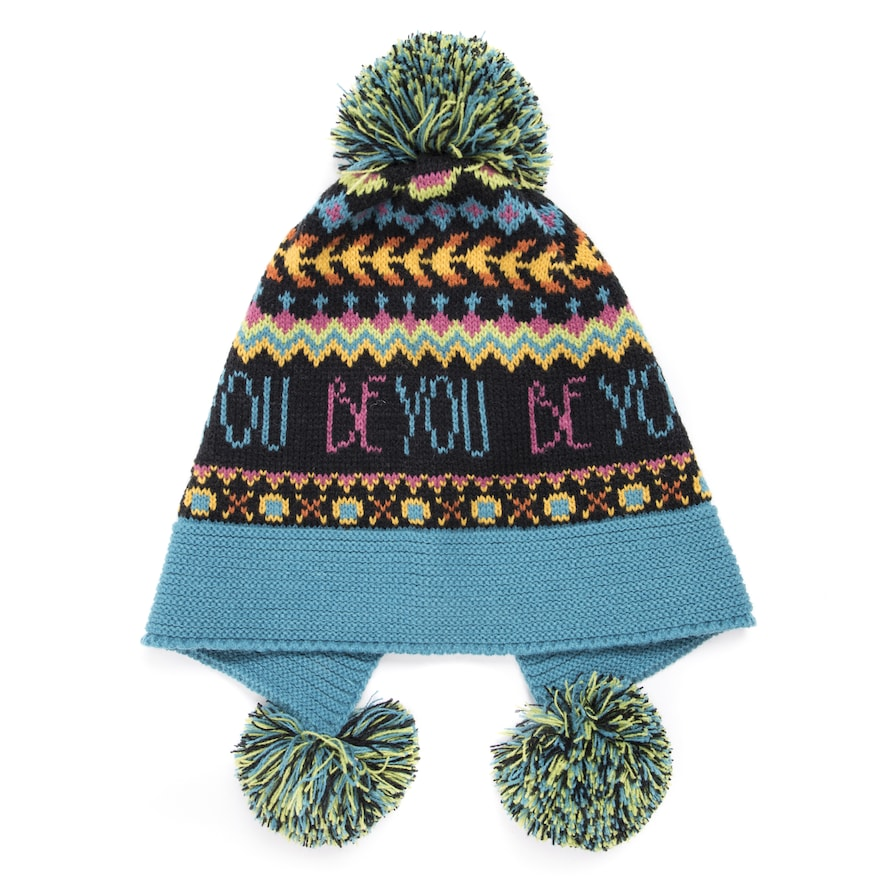 Headscarf Pineapple Love Hip-Hop Knitted Hat for Mens Womens Fashion Beanie Cap