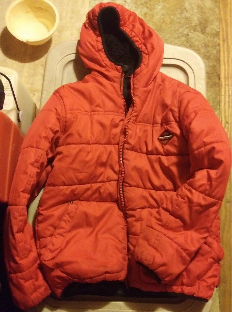 Gelert Kids Boys Reflective Jacket Junior Insulated Coat Top Long Sleeve Water