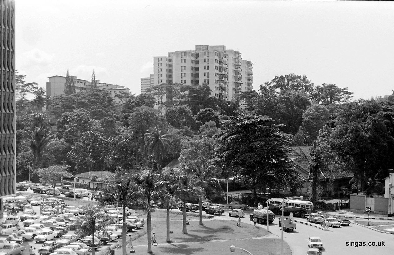 The Beginning Of Scotts Road Taken From The Same Viewpoint Today It Is All High Rise Blocks On Both Sides Singapore Photos Photographs And Memories Singapore