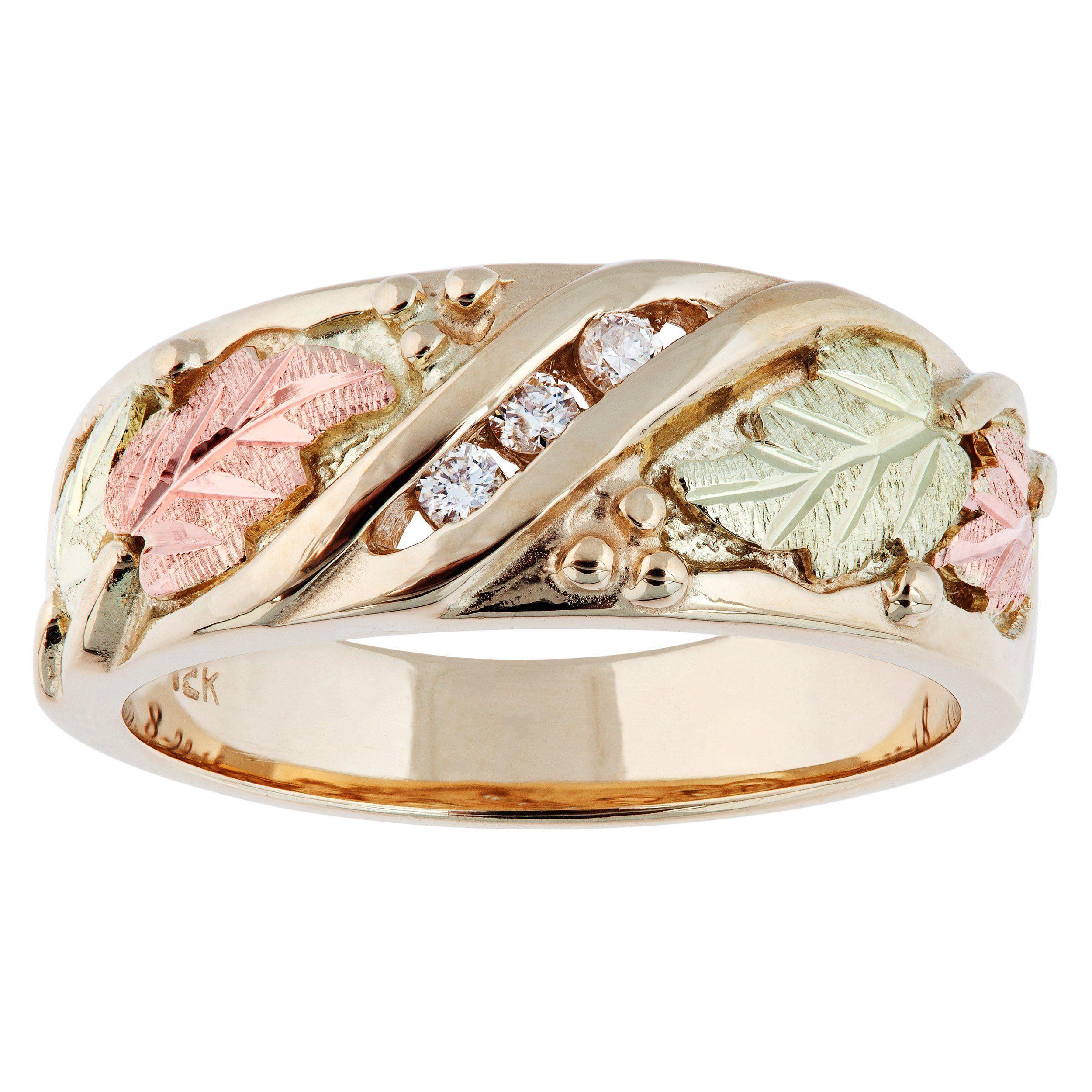 Pin On Black Hills Gold Jewelry