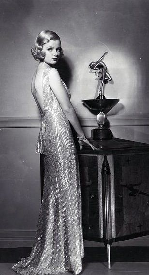 Joan Bennett in 'She couldn't take it', 1935--a movie I really wish I could see (mainly because it costars Billie Burke!)