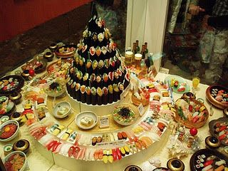 Sushi table!
