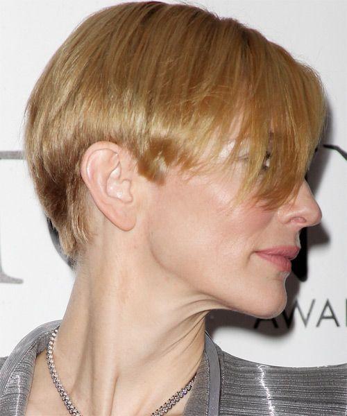 Cate Blanchett Short Straight Formal Hairstyle Celebrity Hair