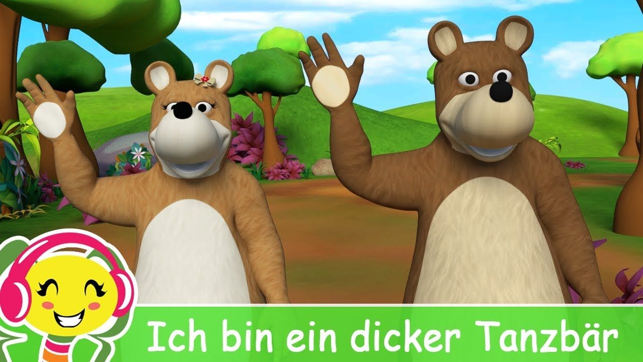 Ich bin ein Dicker Tanzbär - Kinderlieder TV   Kinder lied
