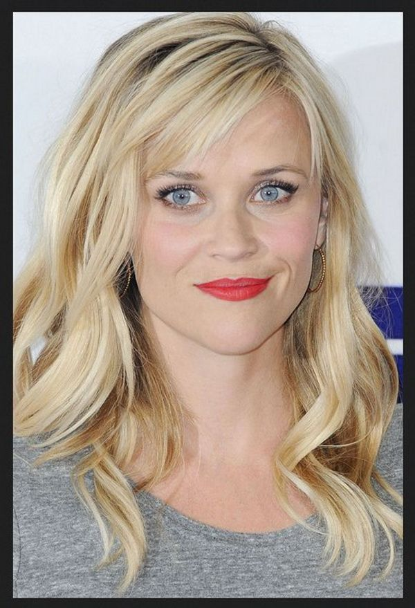 Long Curls Hairstyles 2018-2019 Round Faces with Soft Bangs ...