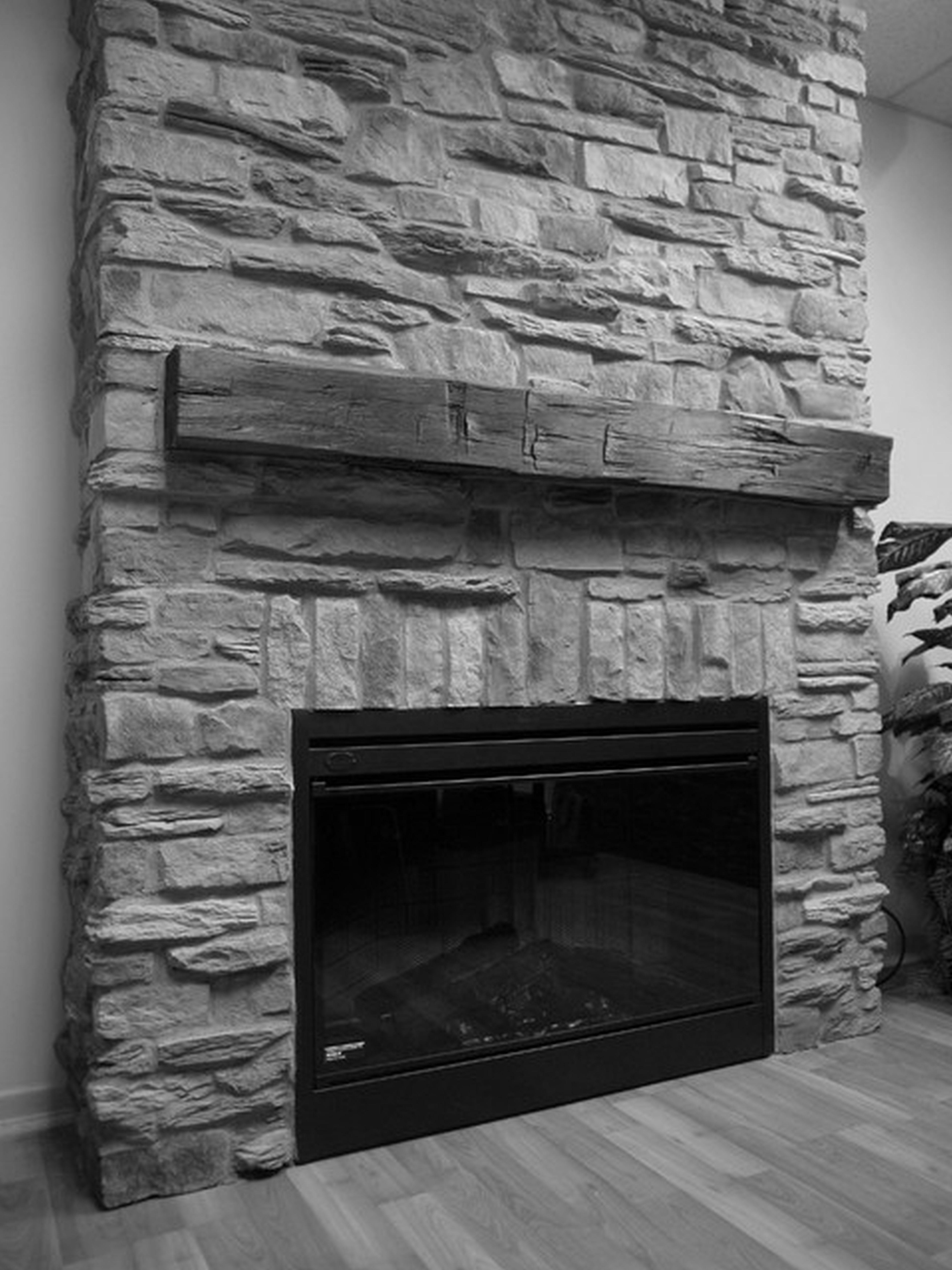 Gray Stone Stone Fireplace Mantel Grey Stone Fireplace Slate