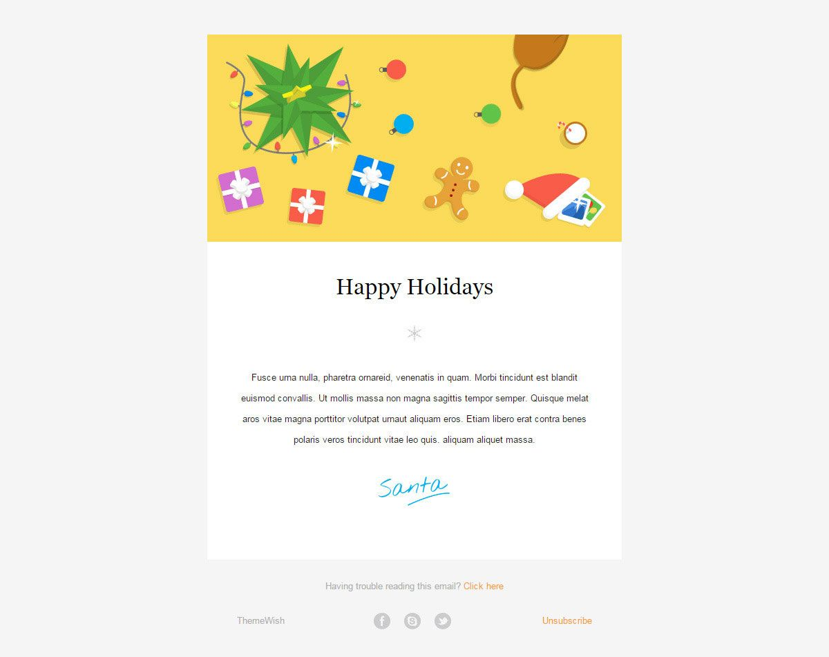 20 Wonderful Christmas New Year Email Templates Bashooka For Holiday Card Email Template In 2020 With Images Wedding Invitation Card Template Vintage Wedding Invitation Cards Transparent Business Cards