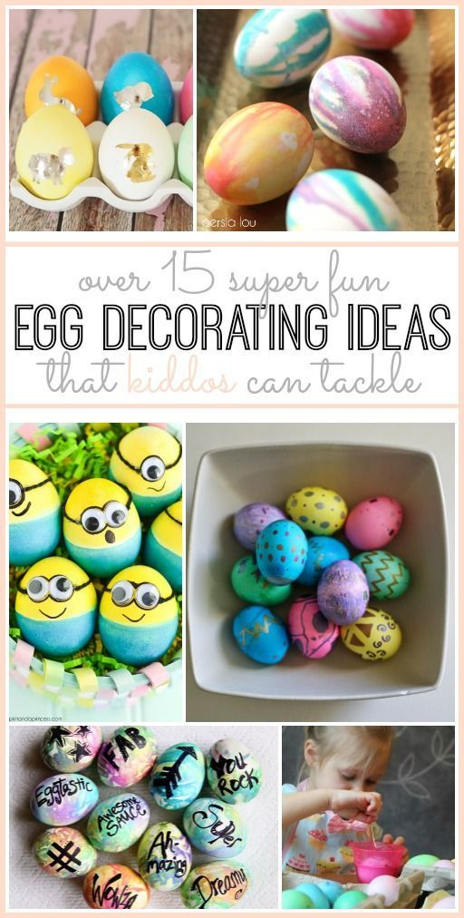 Easter Egg Decorating Ideas - so many crafty fun ones! - Sugar Bee Crafts