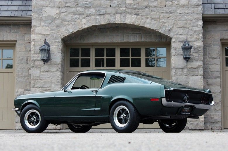 1968 Mustang Gt 390 Bullitt 1968 Cars Movie Buick Grand