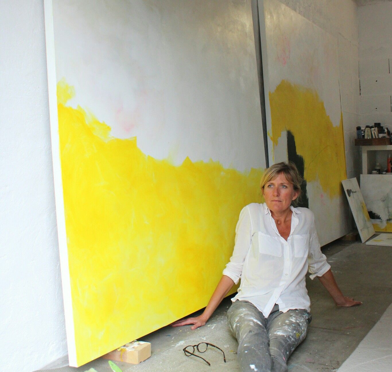 Large format Sandrine Merrien | Painting | Pinterest | Large format