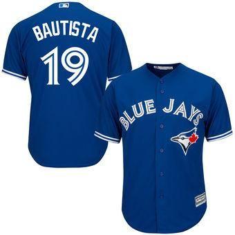 hot sale online 8fe83 93c67 Toronto Blue Jays Jose Bautista #19 Away Jersey | Clothes ...