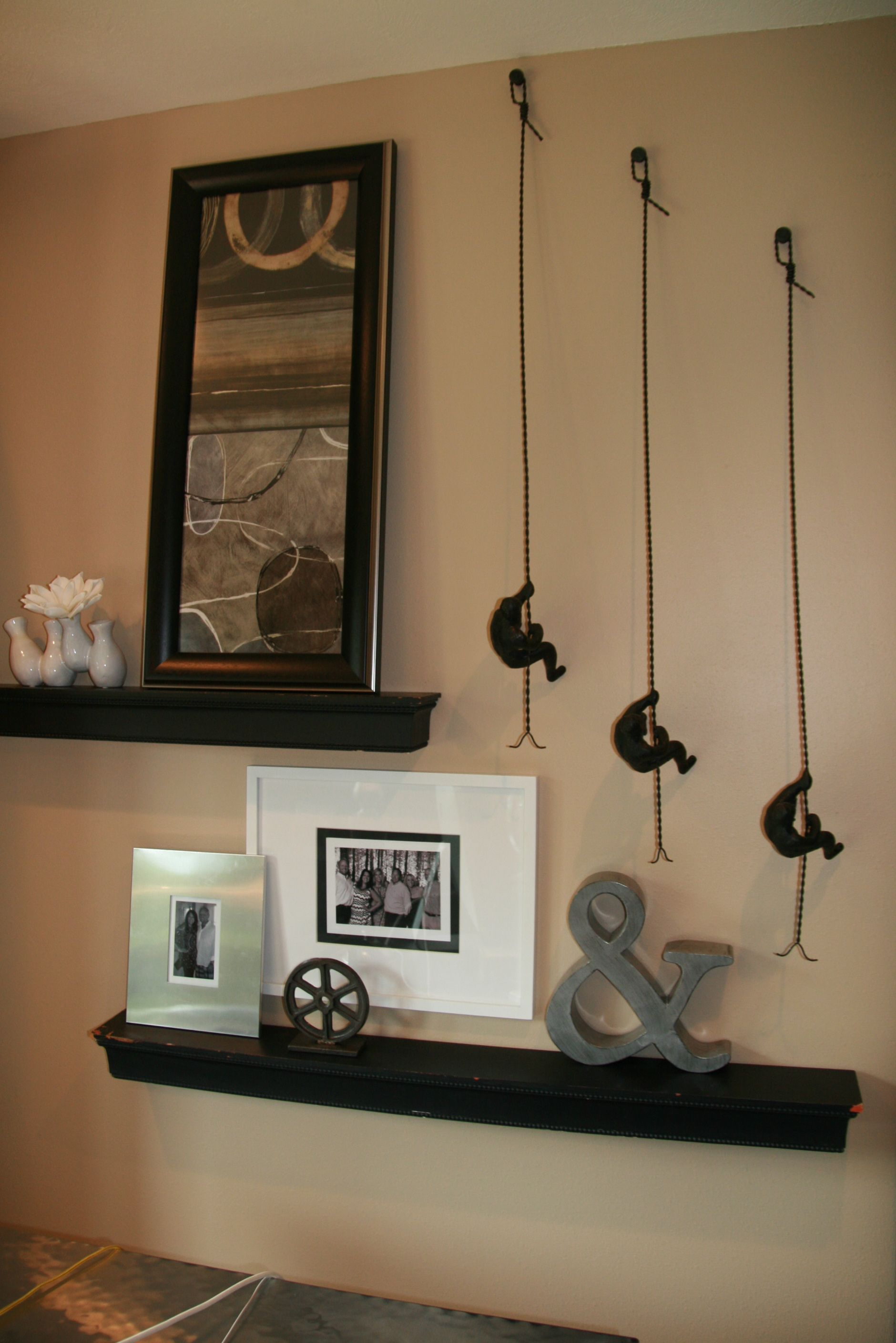 Wall Arrangement Architectural Feature Shelves