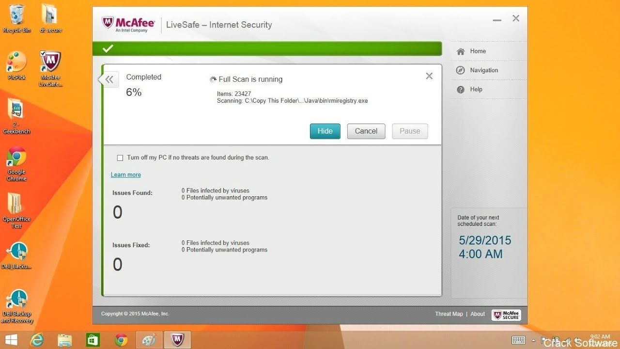 McAfee Activate Crack 2018 + Serial Key Full Free Download