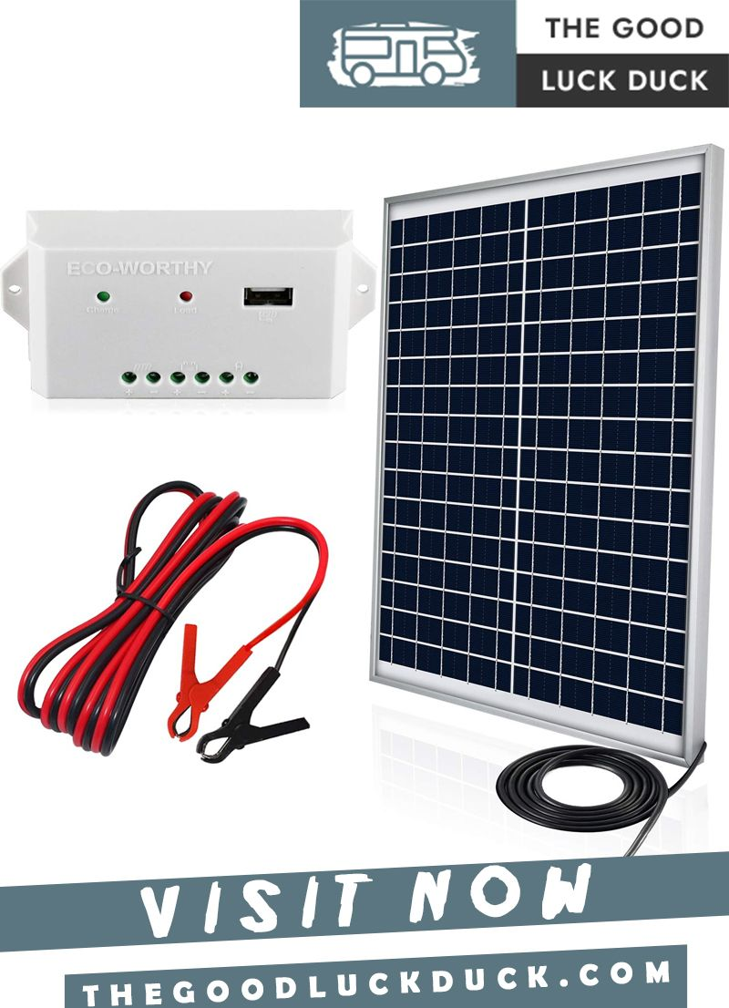 How To Hook Up Solar Panels To Rv Batteries In 2020 Rv Solar Panels Solar Panels Rv Solar