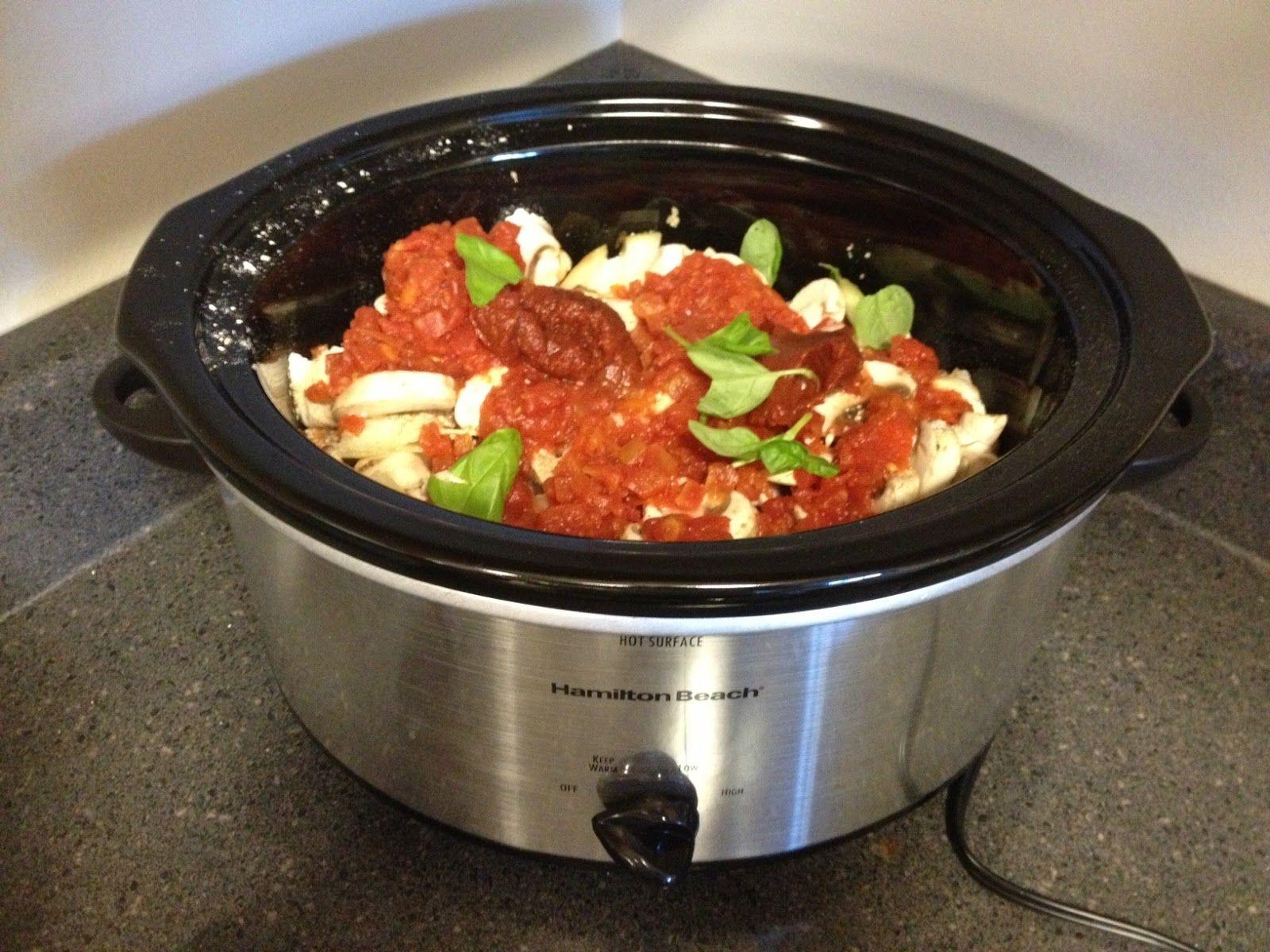 Healthy Crockpot Chicken Cacciatore Recipe Lauren