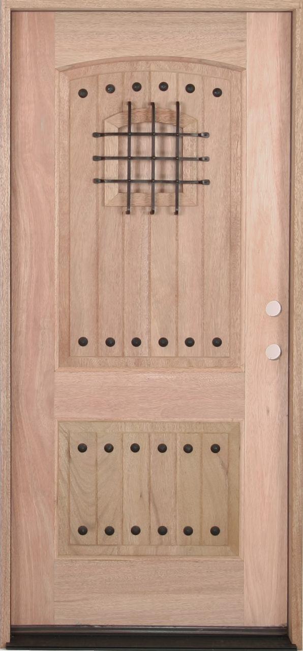 30x 68 Castle Exterior Mahogany Door Castles And Doors