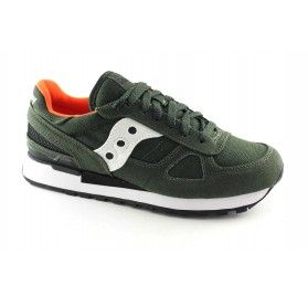 new style f0f33 fbd4a SAUCONY S70219-1 SHADOW ORIGINAL verde scarpe uomo sneakers