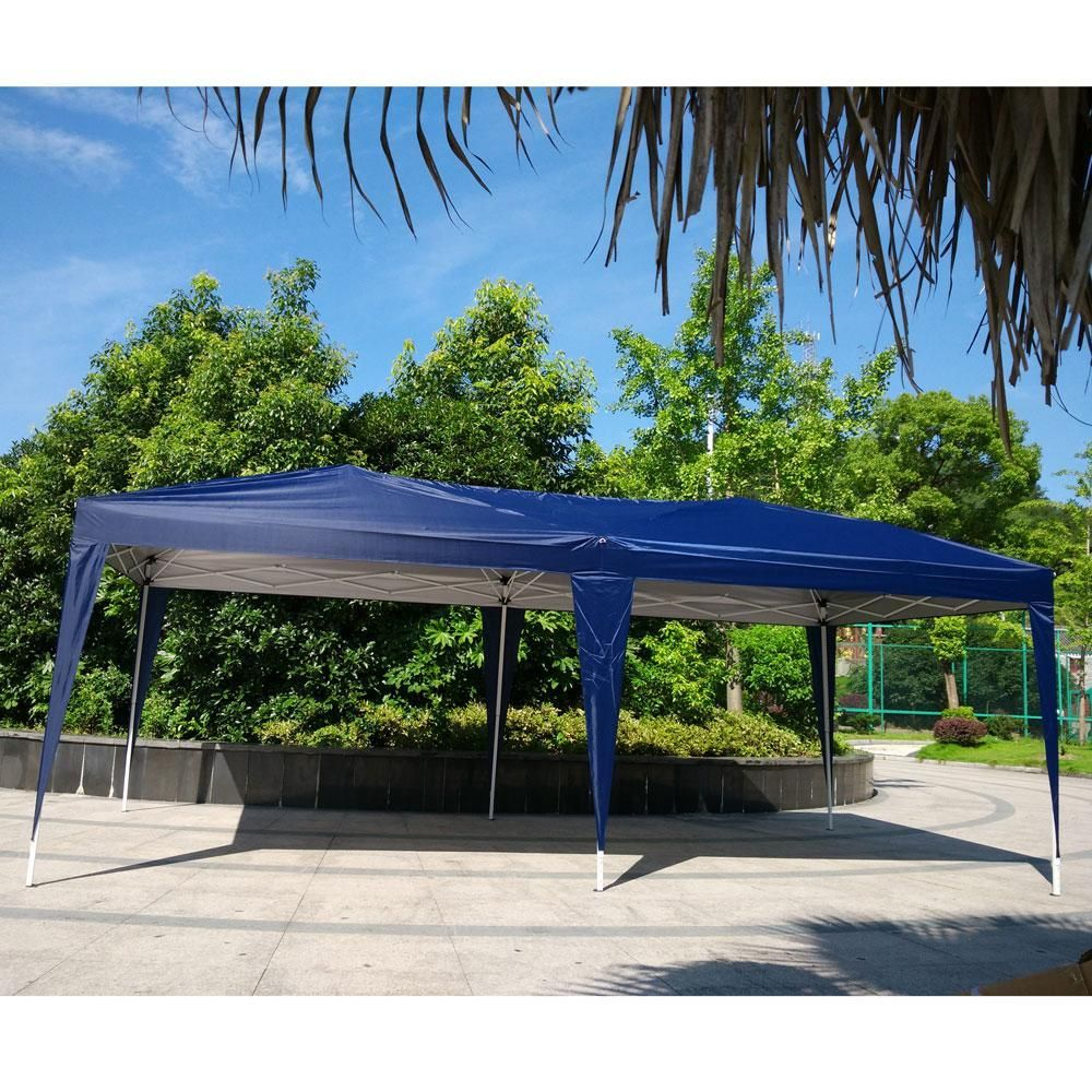 Pop Up Canopy Tent 10 X 20 Wedding Party Gazebo With Carry Bag