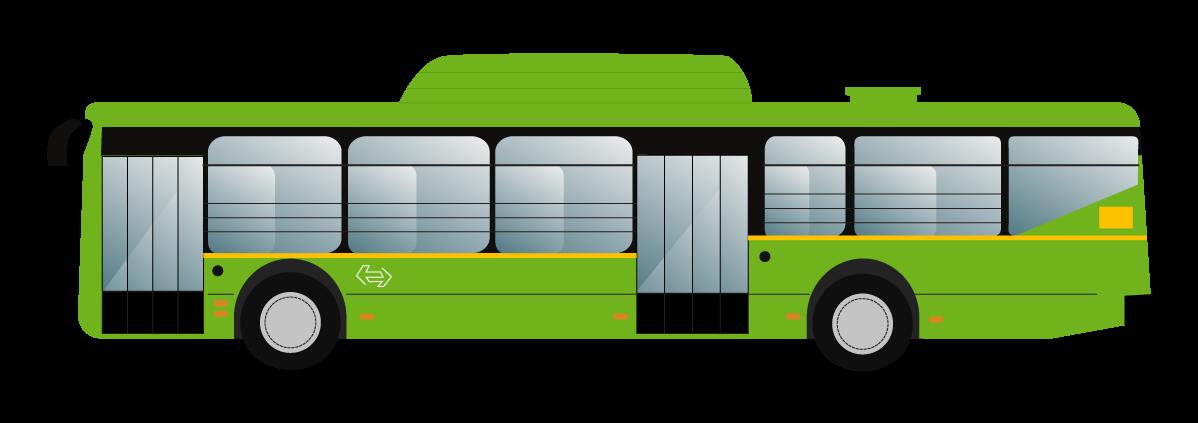 A Delhi Dtc Bus Flat Vector So Few Indian Flat Illustrations Flat Illustration Illustration Bus