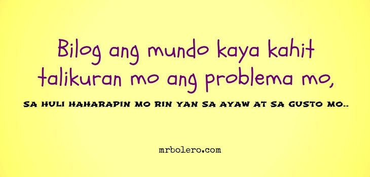 tagalog inspirational quotes tagalog love quotes