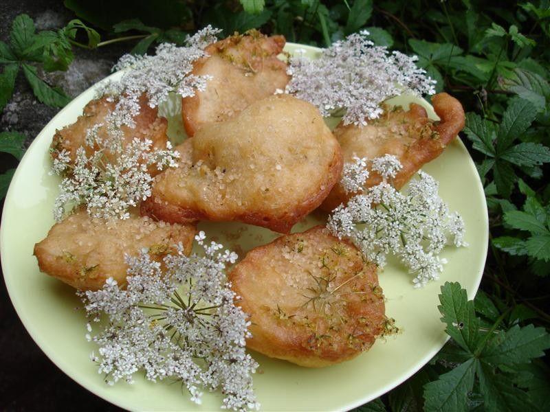 Beignets de fleurs de carottes sauvages - Valérie cuisine ...