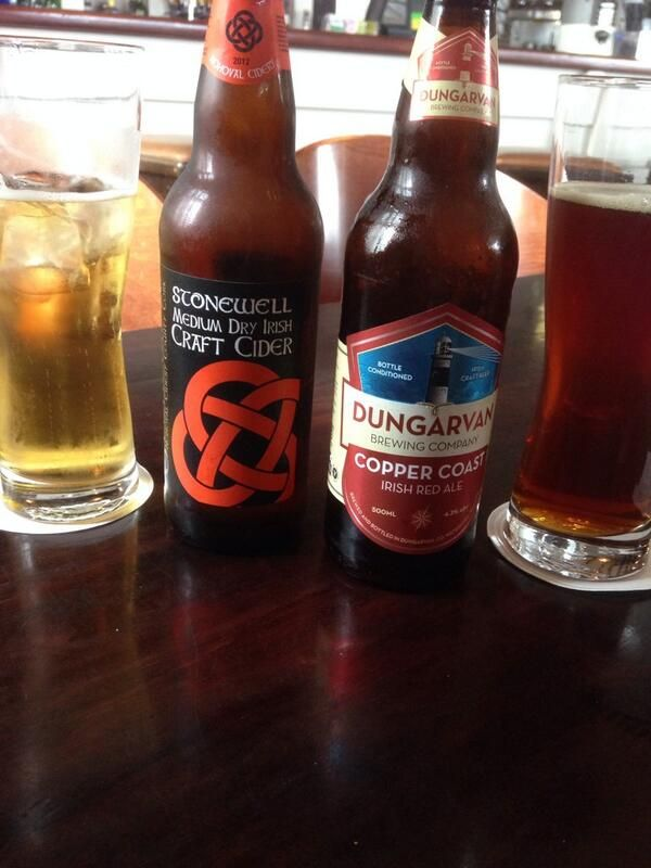 Stonewell Cider and Dungarvan Brewing at Inchydoney Lodge, West Cork